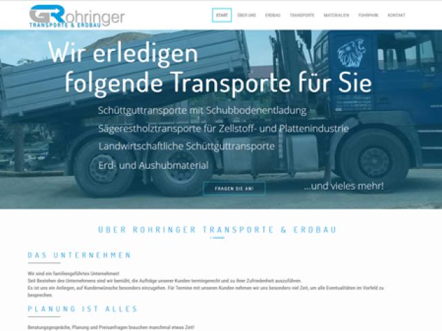 Rohringer Transporte & Erdbau
