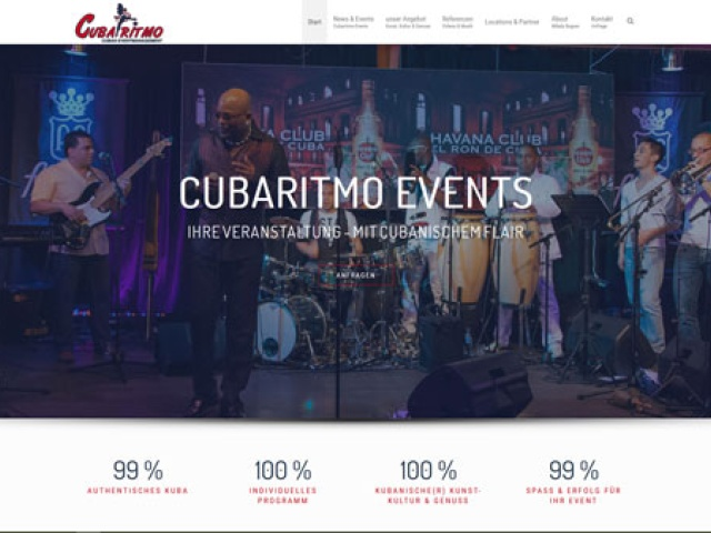 Cubaritmo - Cuban Event Management