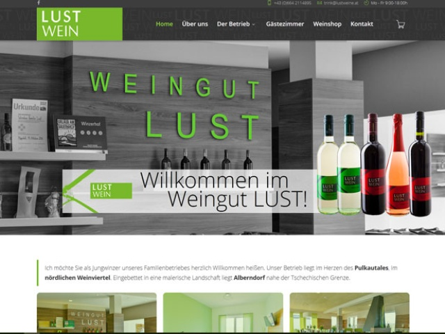 Weingut Lust | Alberndorf im Pulkautal (nördliches Weinviertel)