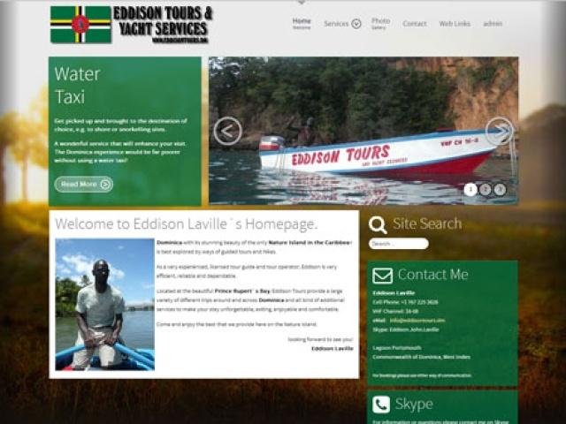 Eddison Tours & Yacht Services   Dominica (West Indies)